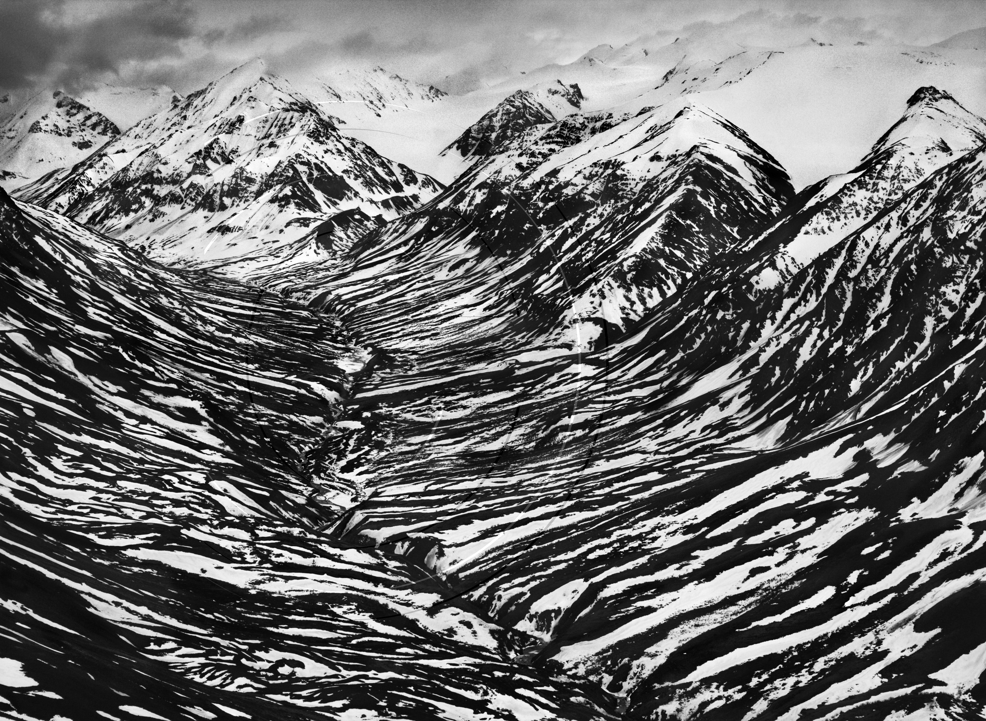 Salgado. Bighorn-creek-in-the-western-part-of-the-kluane-national-park-canada-2011-copy-sebastiao-salgado-amazonas-images-contact