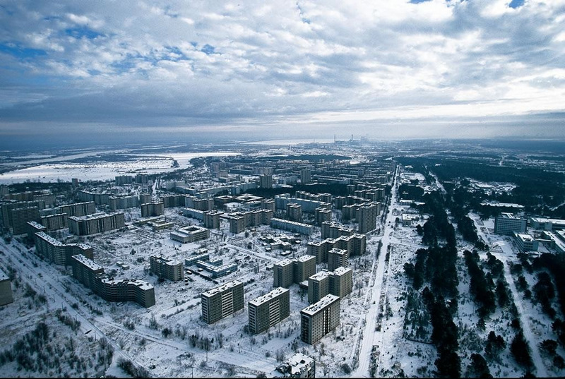Yann Arthus-Bertrand. Pripyat