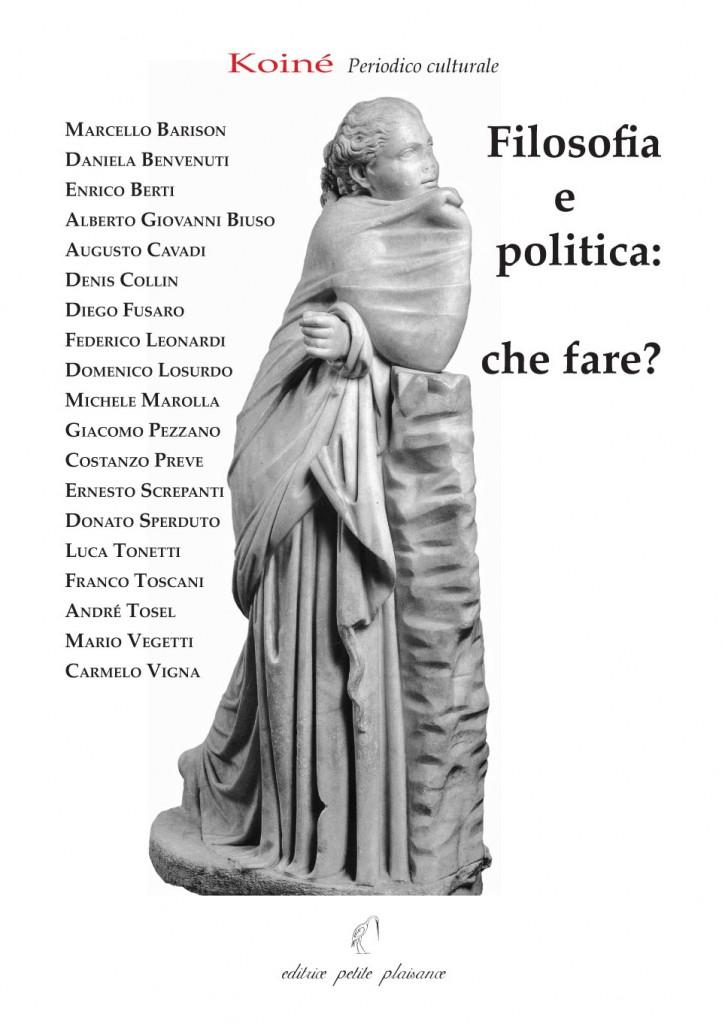 I e IV coperta Filosofia e politica.indd