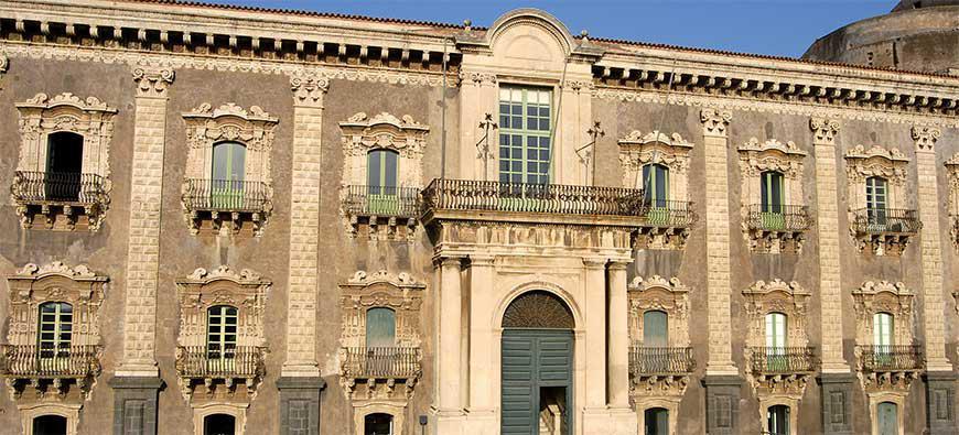 Il Dipartimento di Scienze Umanistiche di Catania