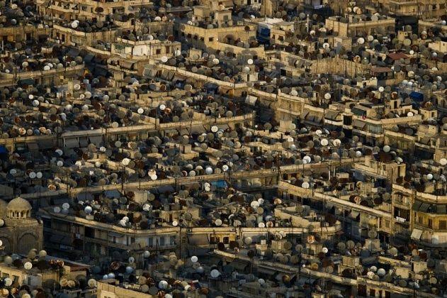 Yann Arthus-Bertrand. Aleppo