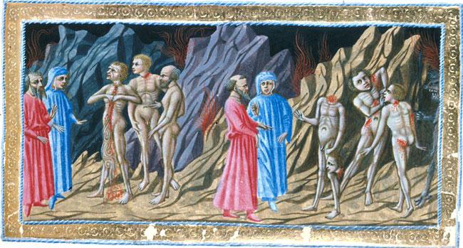 Dante, Maometto e Charlie Hebdo