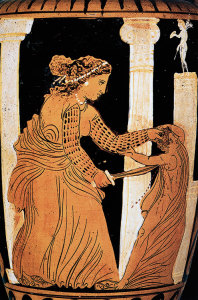Amphora with Medea Ixion Painter