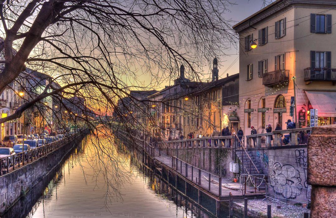«Milano s'illimpidiva»