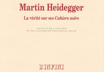 I taccuini di Heidegger