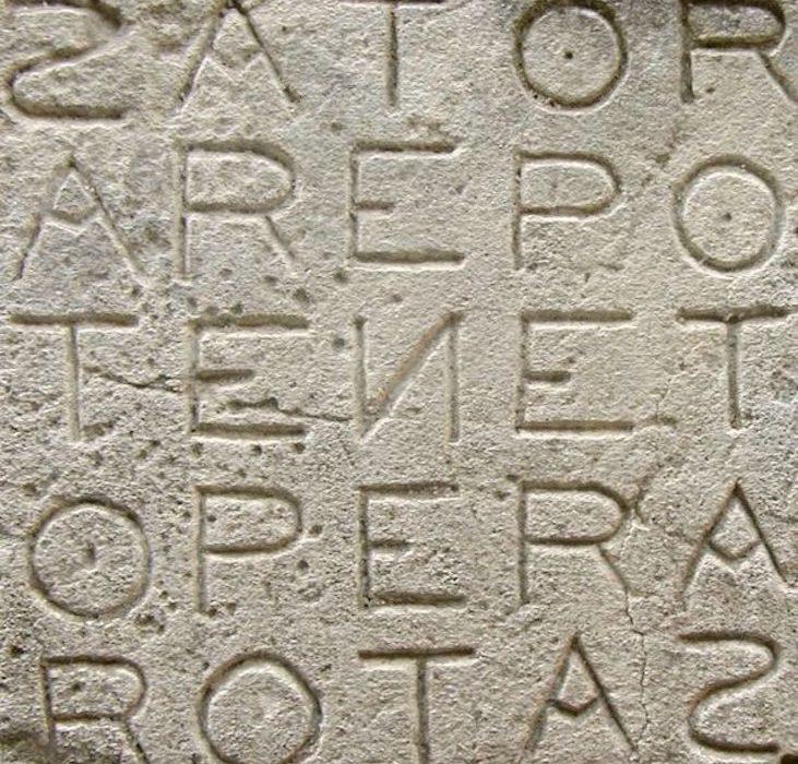 «Sator Arepo Tenet Opera Rotas»