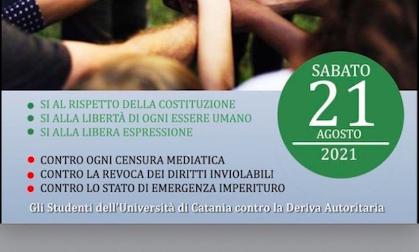 «Studenti dell'Università di Catania contro la deriva autoritaria»